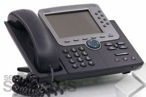 Cisco Unified Ip Phone 7970 Voip Telephone phone System Cp 281 1oz