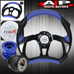 For 94 01 Integra Battle Style Steering Wheel Hub Adapter Extender Type R Button