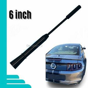 6 Antenna Black For Ford Mustang 2005 2014