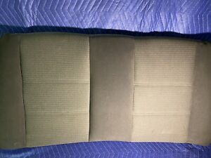 Ford Mustang 1999 2004 Convertible Upper Backseat Dark light Gray Cloth Oem