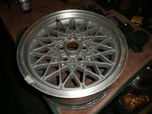 1986 1987 1988 86 87 88 Fiero Gt Oem Snowflake Wheel 15x7 Used Gray Pontiac Look