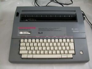 Smith Corona Word Processor Sl 480 Working No Ribbon With Cover