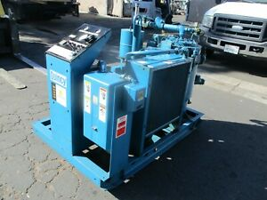 Quincy Model Qsi 30 w Rotary Screw 30 Hp Air Compressor With Only 9 500 Hours