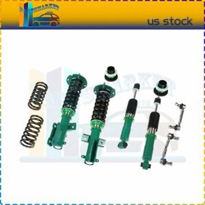 For 2005 2014 Ford Mustang Coilovers Shocks Suspension Spring Kits Adj Height