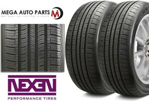 2 Nexen N Priz Ah5 P215 65r15 95t All Season Touring Performance 50k Mile Tires