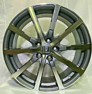 19 Gunmetal Wheels Fits Honda Accord Civic Si Exl Ex Hfp Style W305