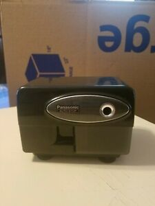 Panasonic Kp 310 Electric Pencil Sharpener Auto stop Black Tested