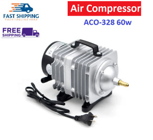 60w Air Compressor Electrical Magnetic Pump Co2 Laser Engraving Cutting Aco 328