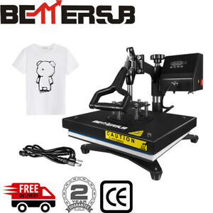 9 x12 Swing Away Heat Press Machine Sublimation For Printing Diy T shirt Cloth
