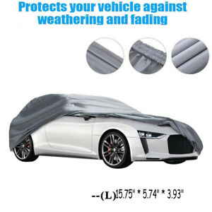 Car Cover Waterproof Dust Resistant Uv Sun Protection Outdoor Universal Cover