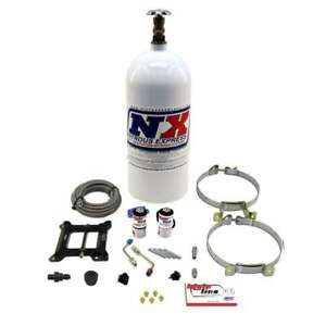 Nitrous Express Mainline Holley 4150 4bbl Plate Kit System Bottle New 100 250hp