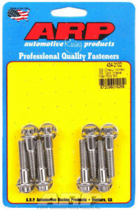 Arp 434 2102 Sbc Chevy Intake Stainless Bolt Set Bolts Vortec
