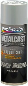 Duplicolor Mc100 Silver Paint Ground Coating Metal Cast Anodized 11oz High Temp