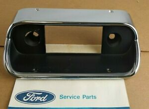 Nos Oem 1967 1968 Ford Mustang Shelby Dash Radio Bezel Rare Find