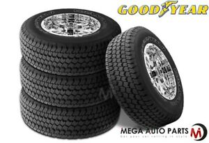 4 Goodyear Wrangler At S P265 70r17 113s Owl All Terrain On Off Road Truck Tires