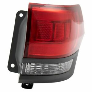 Outer Tail Light Lamp Assembly Passenger Side Rh For Jeep Grand Cherokee Suv New