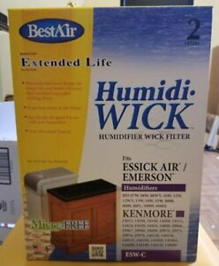 Best Air ESW C 2 Pack Humidifier Filters Fits Essick Air Emerson FAST SHIPPING $16.98