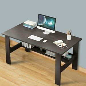 Wood Computer Desk Pc Laptop Study Table Workstation Home Office Furniture 39