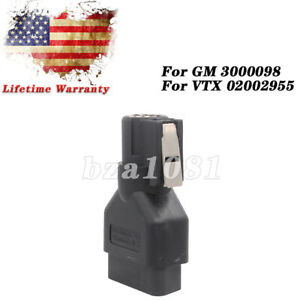 Obd2 Connector Adapter For Gm Tech2 Gm3000098 Vetronix Vtx02002955 16pin Scanner