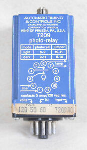 Automatic Timing Controls Photo Relay 7209