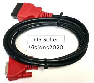 For Solus Ultra Scanner Eesc318 6 Obdii Obd2 Cable Compatible With Snap On Da 4