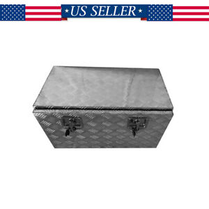 30 Aluminum Car Truck Underbody Tool Box Trailer Tool Storage Under Bed W Lock