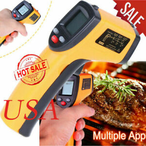 Handheld Infrared Thermometer Non contact Digital Laser Infrared Temperature Gun