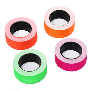 500pcs roll Colorful Price Label Paper Tag Mark Sticker For Mx 5500 Labeller S2