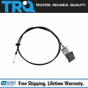 Trq Hood Release Cable Pull Handle For Chevy Colorado Gmc Canyon Hummer H3 H3t