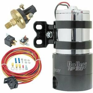 Holley 12 150k Hp 150 Electric Fuel Pump Kit 140 Gph 7 Psi Includes Single Fu