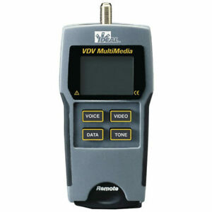 Ideal 33 856 Vdv Multimedia Voice data video Wiremapper And Tester