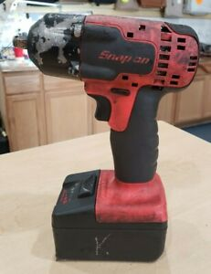 Snap On Ct8810ao 3 8 18v Lithium Ion Cordless Impact Wrench Driver Pre Owned