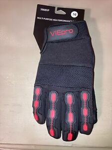 1pair Heavy Duty Impact absorb Work Gloves High Quality