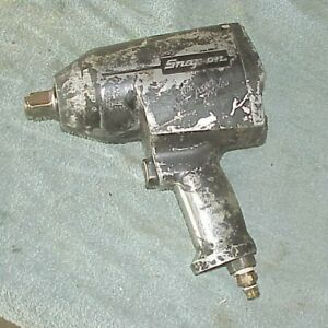 Snap On Tools 3 4 Drive Air Impact Wrench Gun Im75 Works Great
