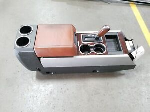 11 14 Ford Expedition King Ranch Floor Center Console W Shifter Assembly Oem