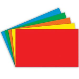 Unruled Primary Color Index Cards By Top Notch Teacher 3x5 3x5 Unruled