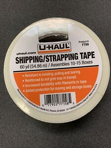 U haul Reinforced Strapping Box Tape moving Tape 2 x 60 Yard