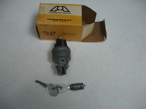 New 1952 1959 Ford Edsel Lincoln T Bird Ignition Switch With Cylinder