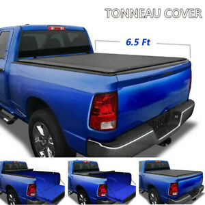 Premium Roll Up Tonneau Cover For 2002 2019 Dodge Ram 1500 2500 3500 6 5ft Bed