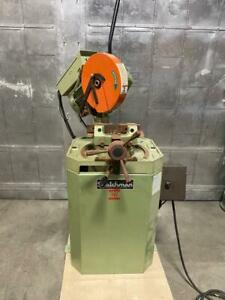 Scotchman Type Cpo 275lt Steel Metal Circular Cold Saw 10 Barely Used Machine