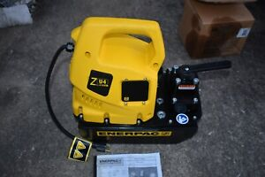 Enerpac Zu4308mb Manual 115 Volt Electric Pump With Valve Type Vm33