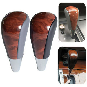 Auto Gear Shift Rod Head Shifter Lever Knob Boot Stick For Lexus Toyota Corolla