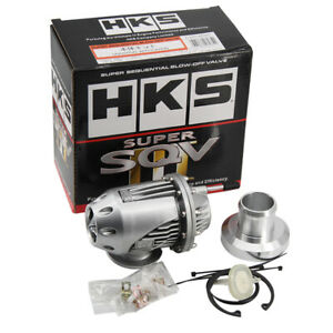 Universal Hks Ssqv3 Bov Super Sequential Iv Turbo Blow Off Valve Oem New Silver