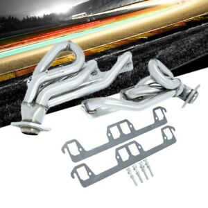Manzo Usa Stainless Exhaust Header Manifold For 94 02 Dodge Ram Pickup 5 2l 5 9l