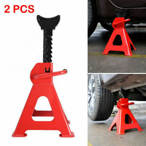1 Pair Racing Jack Stands 3 Ton 6 000 Lb Heavy Duty For Car Truck Auto Us Stock