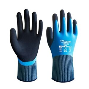 Lpred Wonder Grip Safety Work Gloves Fully Dipped Waterproof Cold proof Gloves