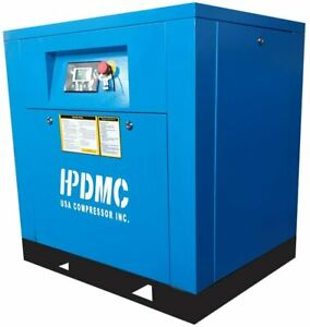 Permanent Magnetic Variable Speed Drive 10hp Rotary Screw Compressor 230v 39cfm