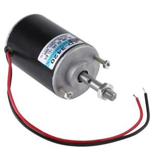 12v 3500rpm Electric Motor Permanent Magnet High Speed Cw ccw Control Generator