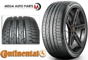1 New Continental Sportcontact 6 245 35zr19 93y Xl Tires