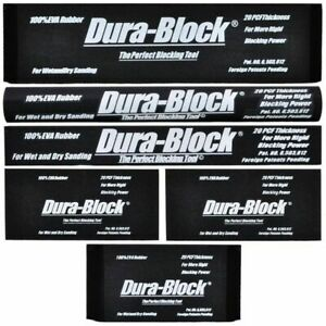 Durablock Af44a Kit 6 Piece Sanding Block Set 4400 4401 4402 4404 2x 4405